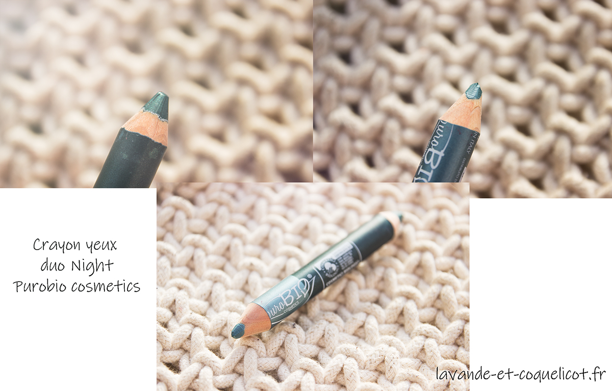 crayon yeux duo night purobio cosmetics